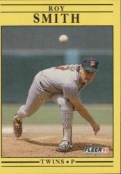 1991 Fleer 624 Roy Smith