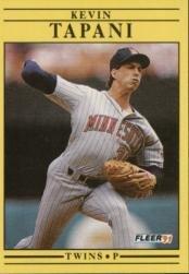 1991 Fleer 625 Kevin Tapani