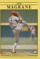 1991 Fleer 638 Joe Magrane