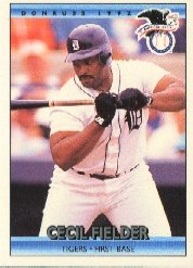 1992 Donruss 27 Cecil Fielder AS