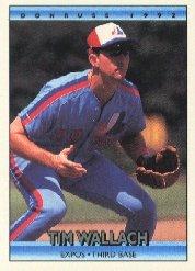 1992 Donruss 34 Tim Wallach