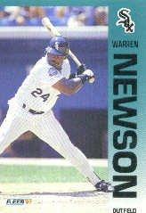 1992 Fleer #91 Warren Newson