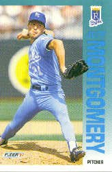 1992 Fleer 164 Jeff Montgomery