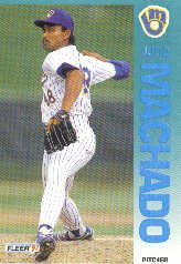 1992 Fleer 181 Julio Machado