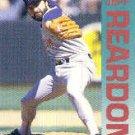 1992 Fleer 46 Jeff Reardon