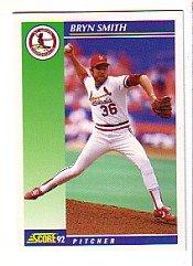 1992 Score #529 Bryn Smith