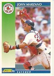 1992 Score #539 John Marzano