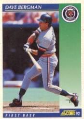 1992 Score #543 Dave Bergman
