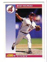 1992 Score #559 Rod Nichols