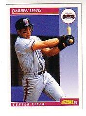 1992 Score #562 Darren Lewis