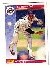 1992 Score #564 Ed Whitson