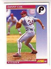 1992 Score #568 Danny Cox
