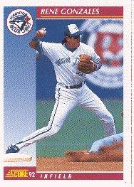 1992 Score #582 Rene Gonzales