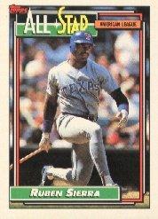 1992 Topps 403 Ruben Sierra AS