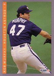 1993 Fleer #439 Rob Murphy