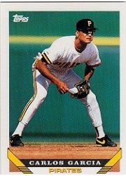 1993 Topps 27 Carlos Garcia