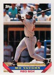 1993 Topps 51 Mo Vaughn