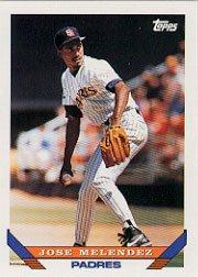 1993 Topps 58 Jose Melendez