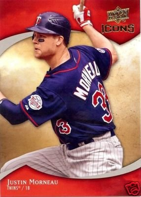 2009 Upper Deck Icons #66 Justin Morneau