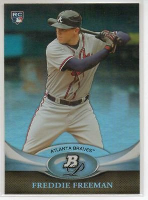 2011 Bowman Platinum #57 Freddie Freeman RC