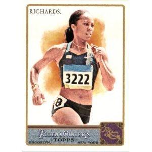 2011 Topps Allen and Ginter #148 Sanya Richards