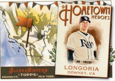 2011 Topps Allen and Ginter Hometown Heroes #HH48 Evan Longoria