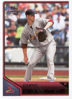 2011 Topps Lineage #38 Chris Carpenter