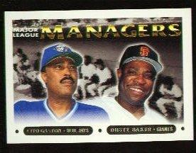1993 Topps #514 Cito Gaston/Dusty Baker