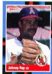 1988 Donruss #428 Johnny Ray