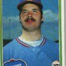 1981 Topps #592 Steve Comer