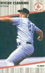 1989 Fleer 85 Roger Clemens