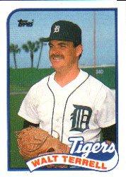 1989 Topps 127 Walt Terrell