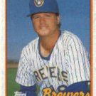 1989 Topps 696 Don August