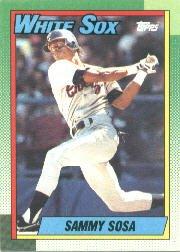 1990 Topps #692 Sammy Sosa RC