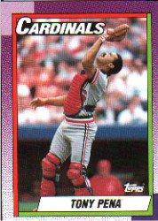 1990 Topps 115 Tony Pena
