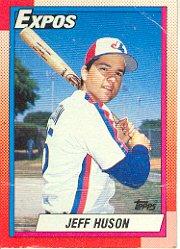 1990 Topps 72 Jeff Huson RC