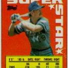 1990 Topps Sticker Backs #54 Robin Yount