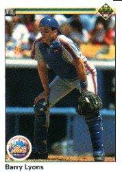 1990 Upper Deck 473 Barry Lyons