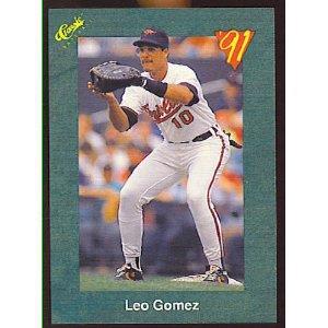 1991 Classic III #T31 Leo Gomez