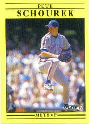 1991 Fleer Update #104 Pete Schourek RC
