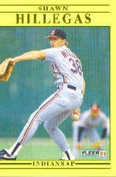 1991 Fleer Update #18 Shawn Hillegas