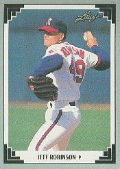 1991 Leaf #307 Jeff Robinson