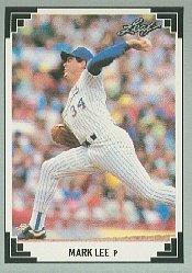 1991 Leaf #343 Mark Lee RC
