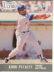 1991 Ultra #195 Kirby Puckett