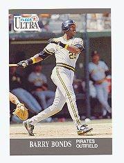 1991 Ultra #275 Barry Bonds