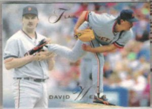1993 Flair #210 David Wells
