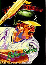 1994 Donruss Diamond Kings #DK18 Ruben Sierra