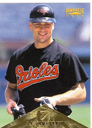 1996 Pinnacle #393 Cal Ripken CL