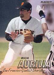 1997 Fleer #474 Rich Aurilia