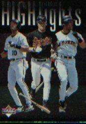 1997 Upper Deck #215 Bonds/Sheff/Brady HL/CL
